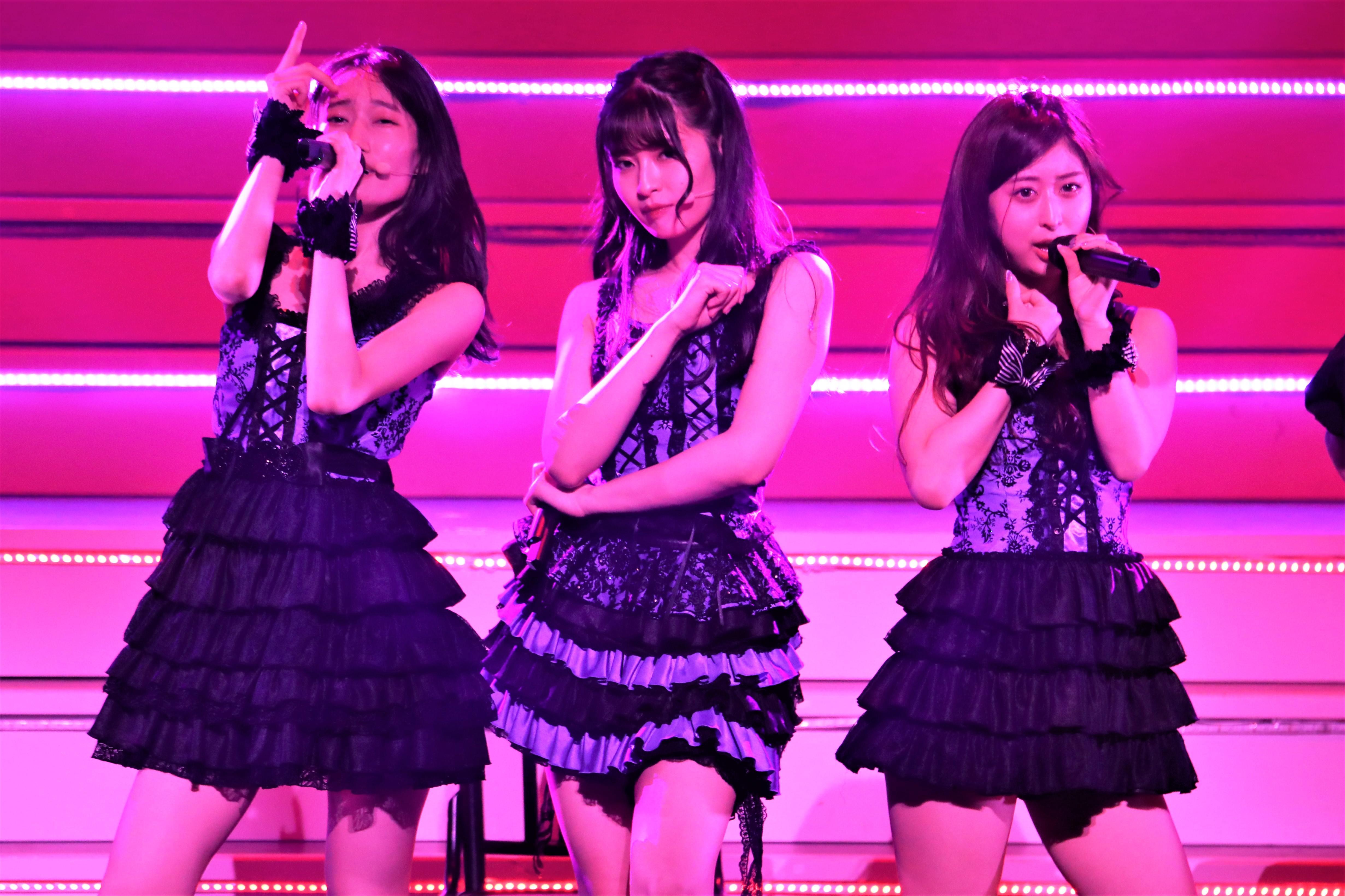 黒須遥香、行天優莉奈、吉橋柚花  ©AKB48 THE AUDISHOW製作委員会  無断アップロード及び転送は一切禁止です。
