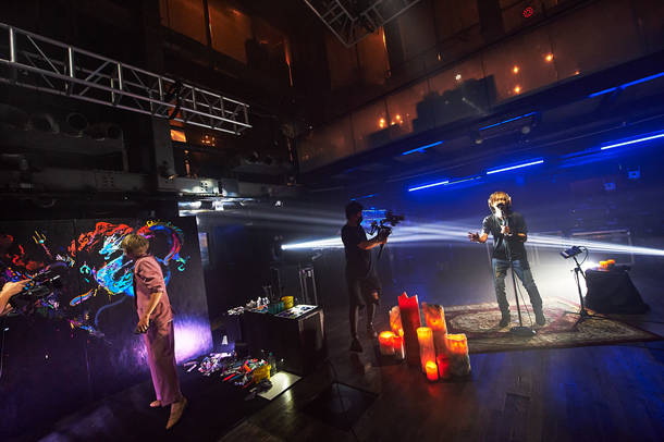 『SUGIZO vs INORAN PRESENTS BEST BOUT 2021~L2/5~』(INORAN×OGINO) Photo by Keiko TANABE