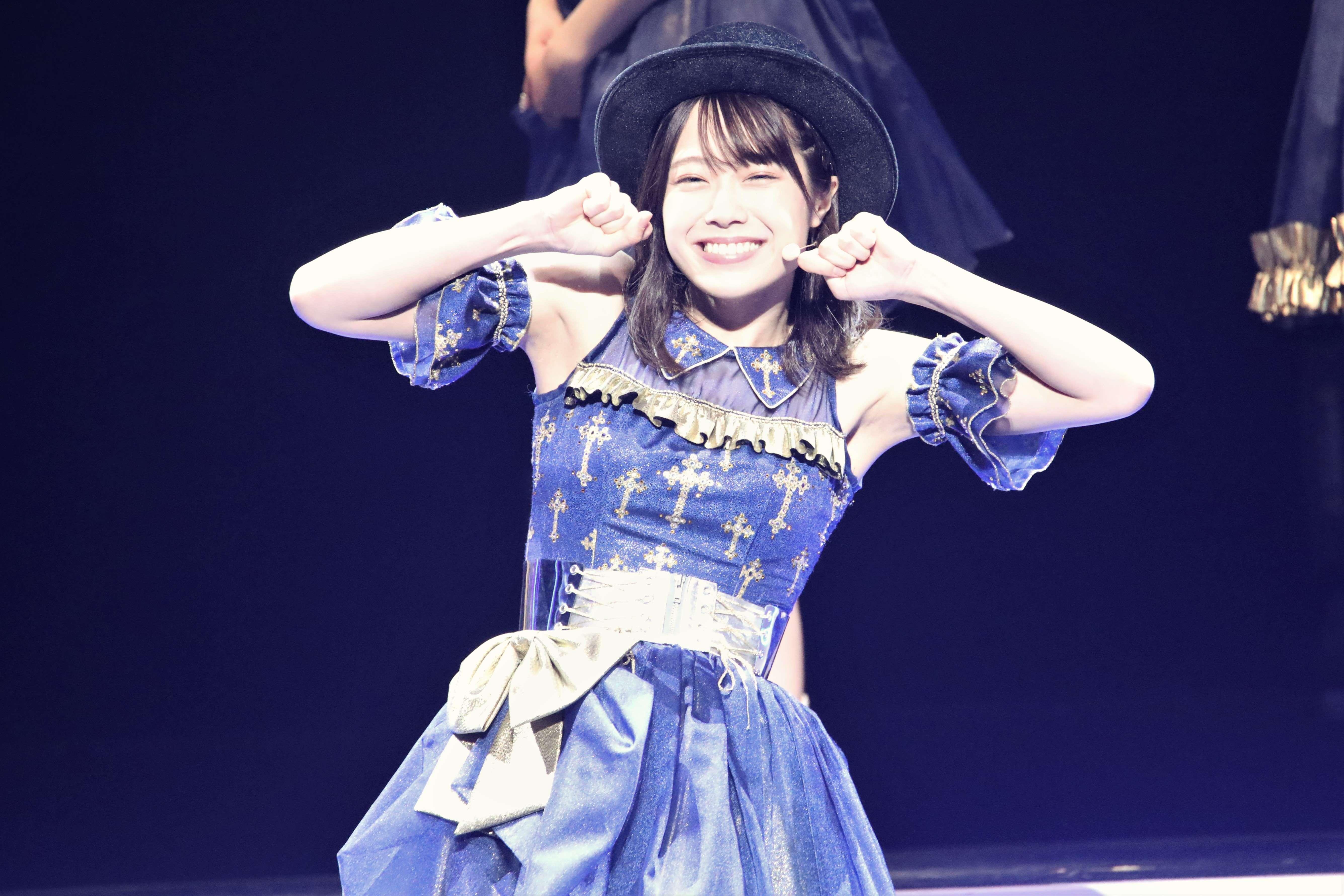 「笑顔がかわいい番長」企画での小田えりな ©AKB48 THE AUDISHOW製作委員会 無断アップロード及び転送は一切禁止です。