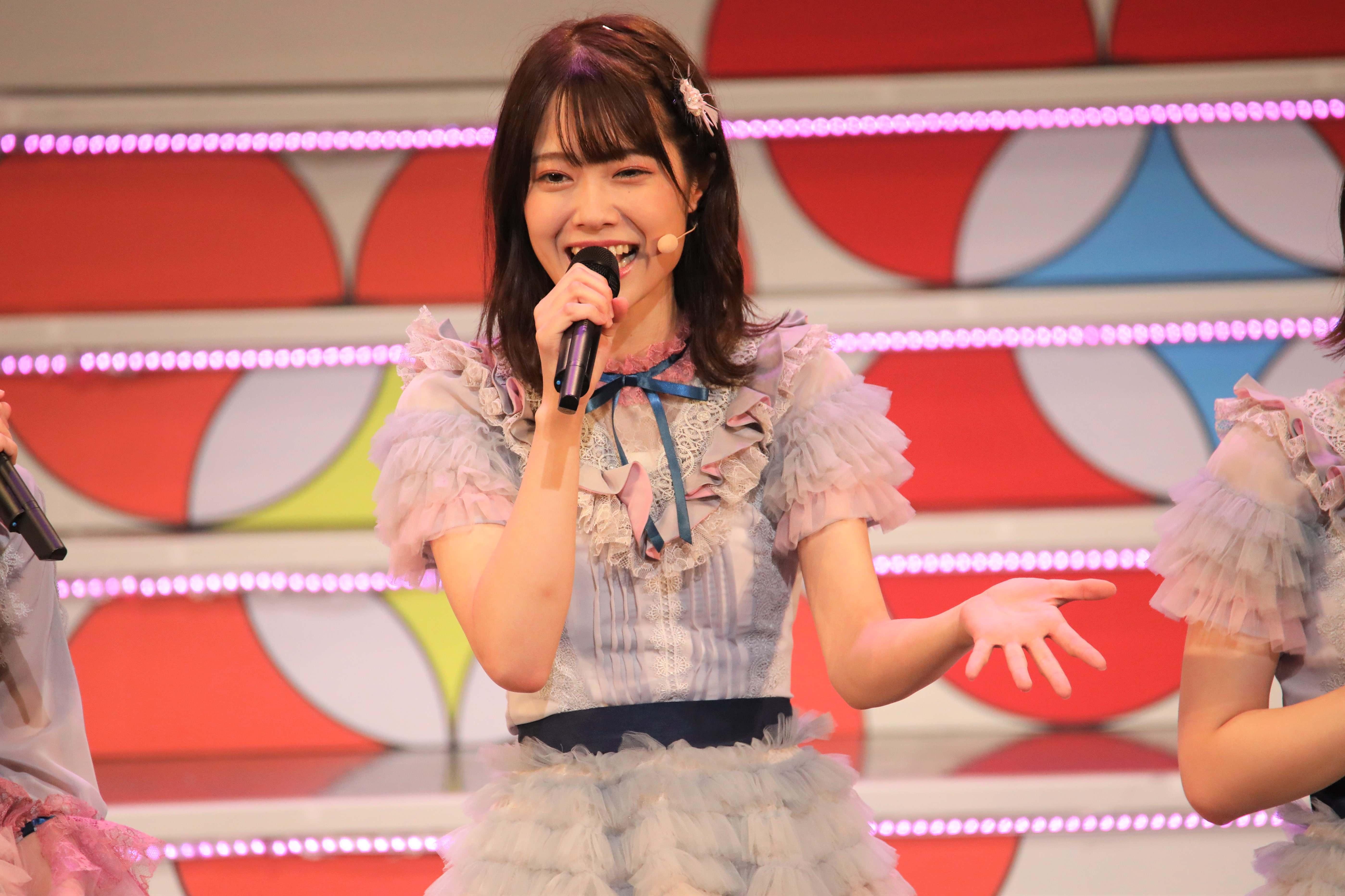 「横浜おしゃれ祭りって何だろう?なんか名前ダサくない?(笑)大丈夫かな?」©AKB48 THE AUDISHOW製作委員会 無断アップロード及び転送は一切禁止です。