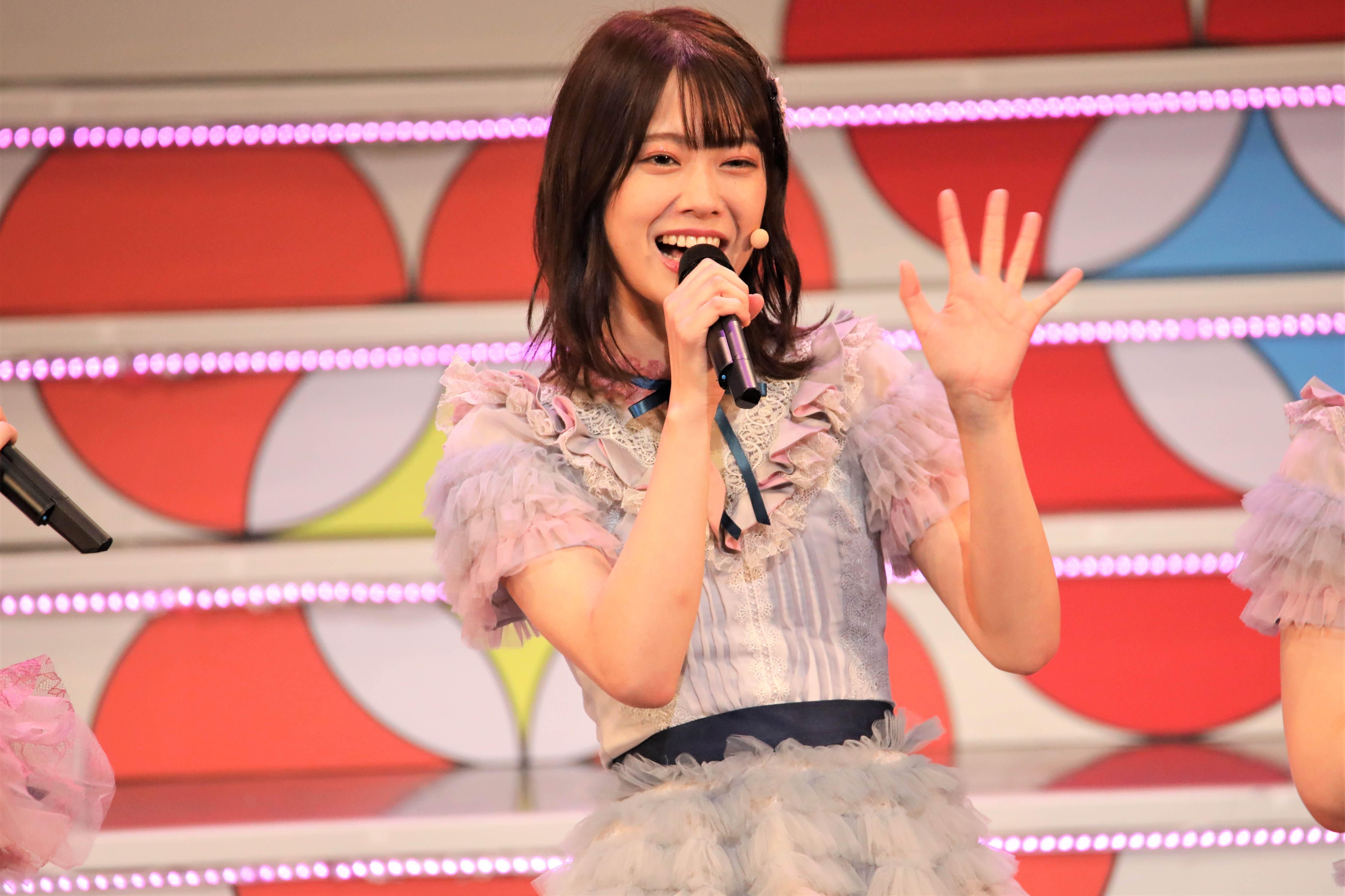「是非エイトの日、来てください!楽しみにしていてください!」©AKB48 THE AUDISHOW製作委員会 無断アップロード及び転送は一切禁止です。