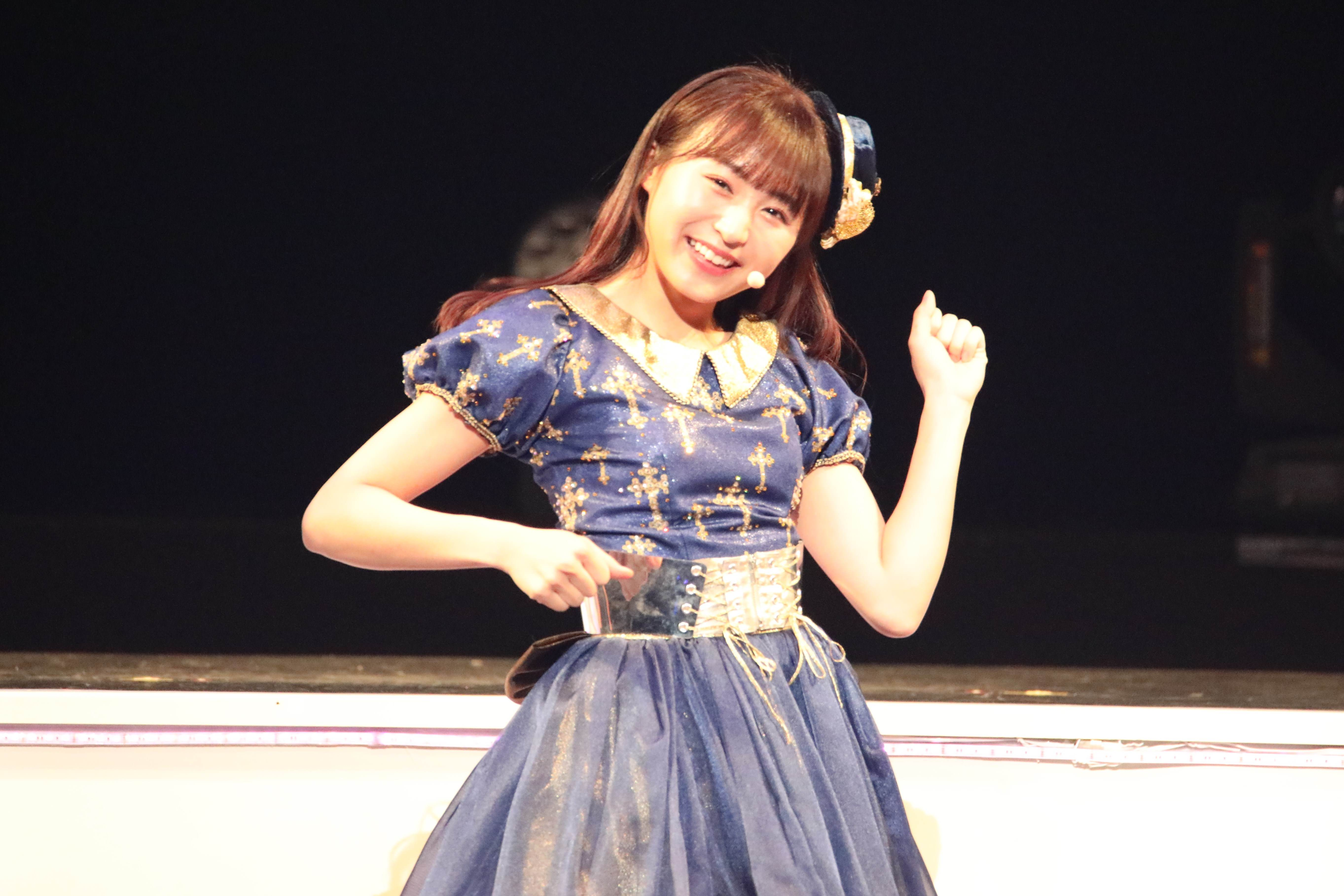 「やぎ座が1位!?!やったーーー!行ってきます!」©AKB48 THE AUDISHOW製作委員会  無断アップロード及び転送は一切禁止です。