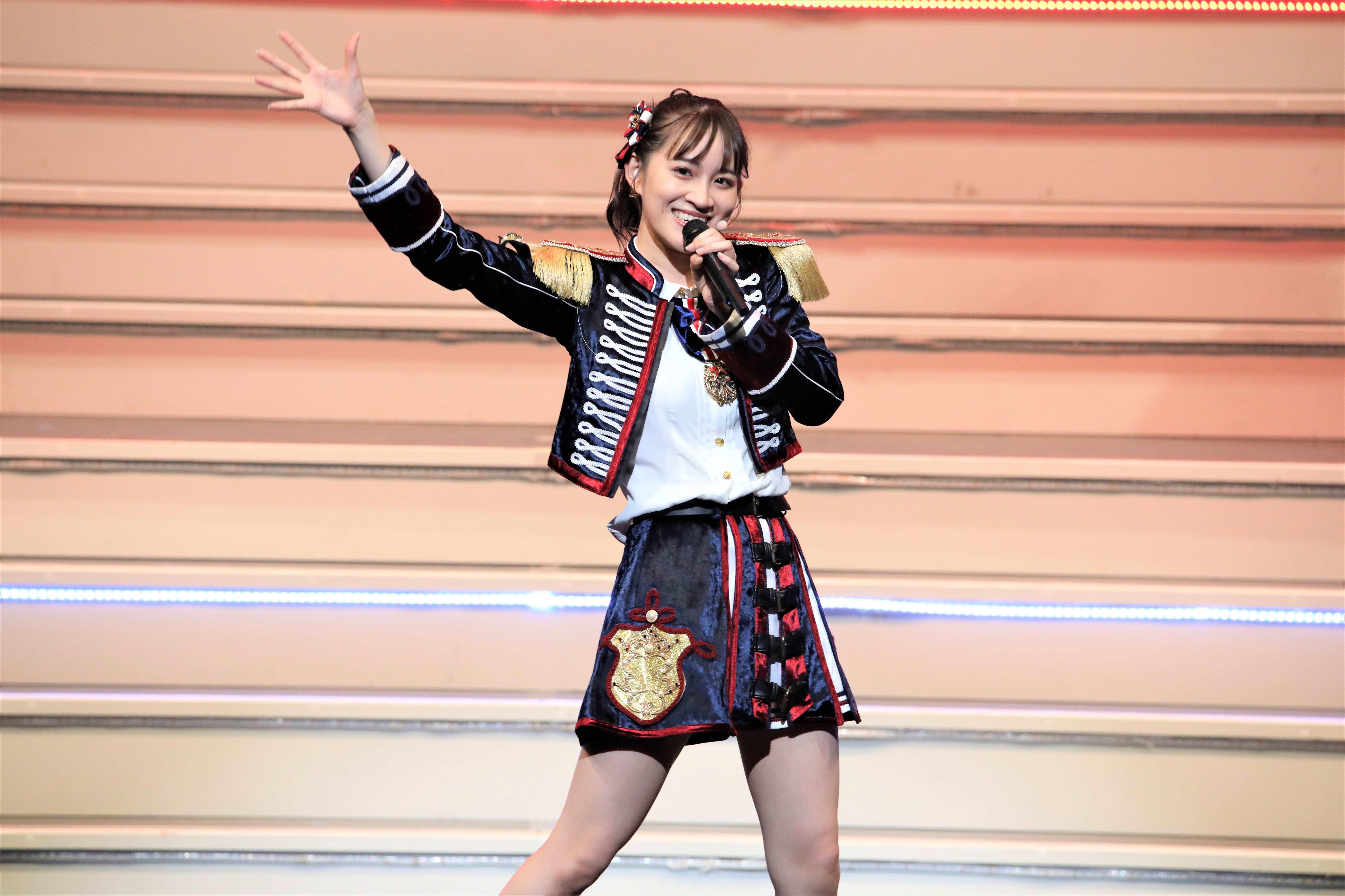 下口ひなな「タッチ」©AKB48 THE AUDISHOW製作委員会  無断アップロード及び転送は一切禁止です。