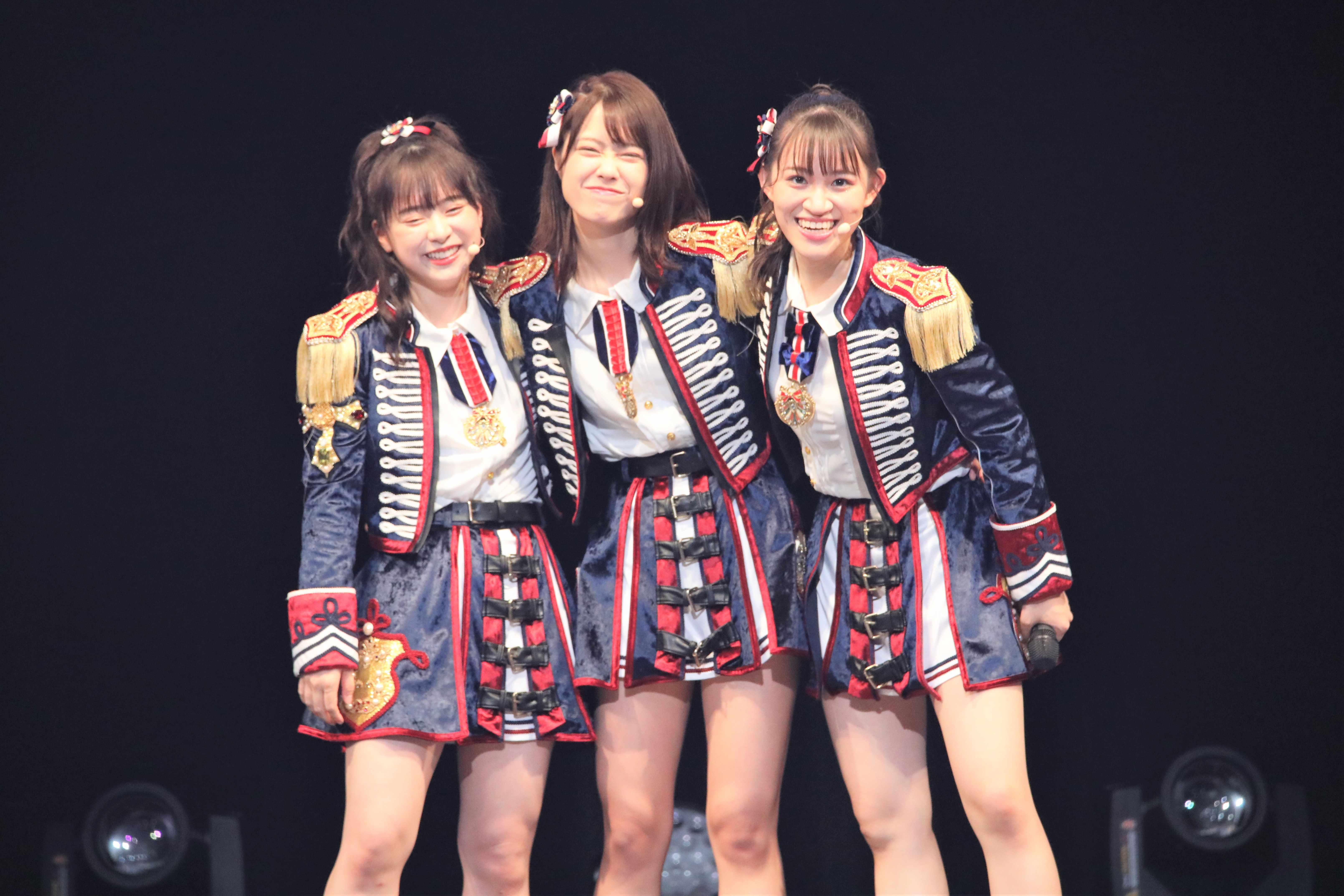 倉野尾成美・小田えりな・下口ひなな ©AKB48 THE AUDISHOW製作委員会  無断アップロード及び転送は一切禁止です。