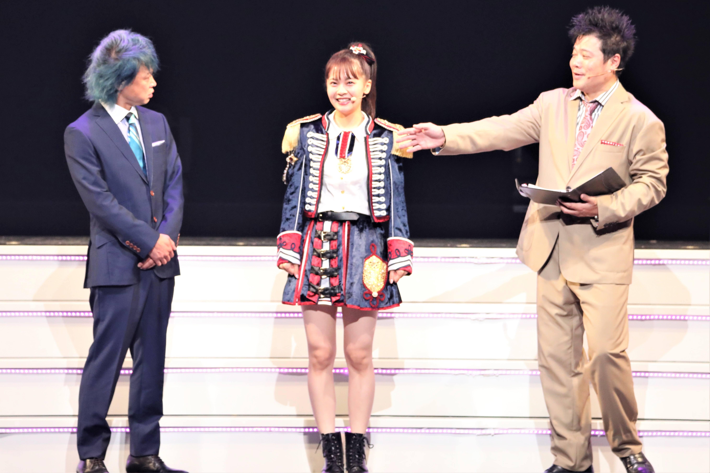 「私はアクロバットをします!小5からやっていました」©AKB48 THE AUDISHOW製作委員会  無断アップロード及び転送は一切禁止です。