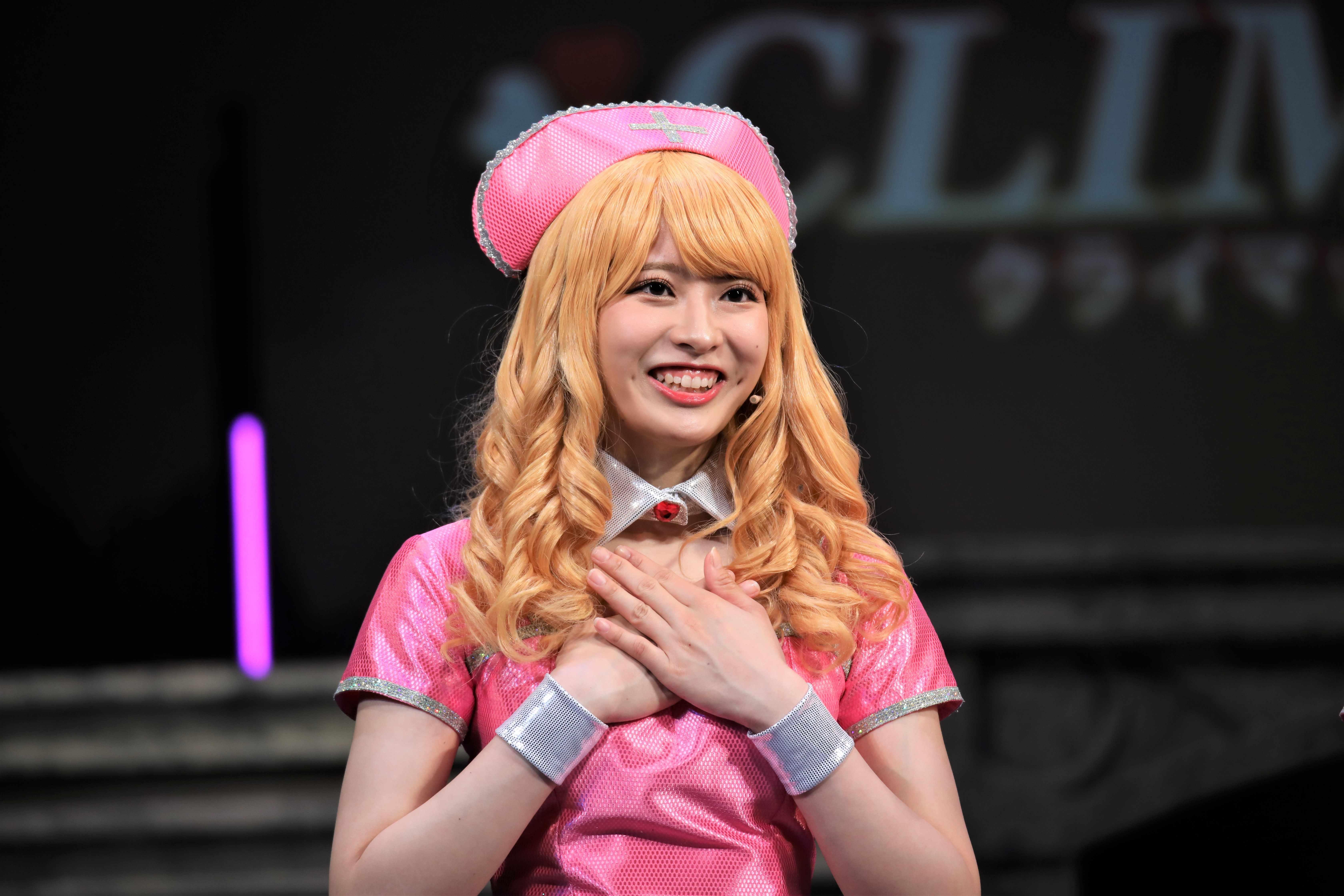 行天優莉奈「体のラインが凄く出ていますので、皆さんのスタイルの良さが際立っています」©永井豪/ダイナミック企画・舞台「Cutie Honey Climax」製作委員会 無断アップロード及び転送は一切禁止です。