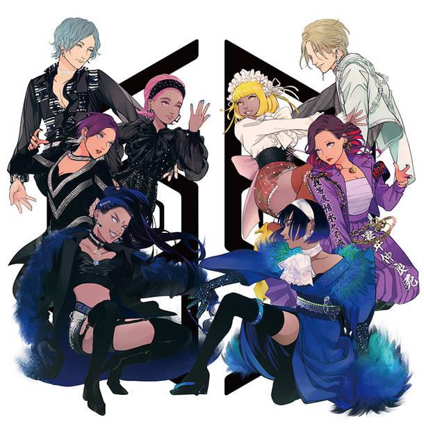 Blu-ray&DVD『女王蜂 日本武道館単独公演 2DAYS HYPER BLACK LOVE 20210224 夜天決行 20210225』【完全生産限定盤】(2Blu-ray)