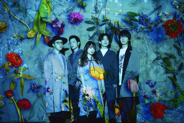 L→R rio(Key)、syunn(Ba)、kiila(Vo)、tomoki(Dr)、yu-ya(Gu)
