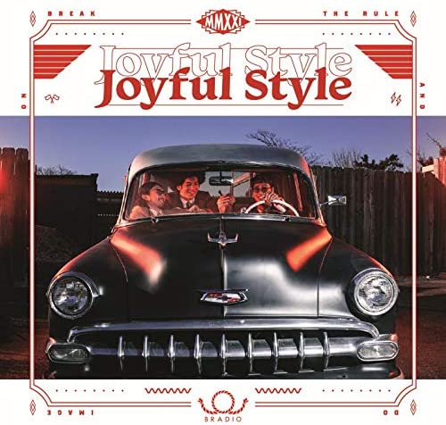 「Fitness Funk」収録アルバム『Joyful Style』/BRADIO