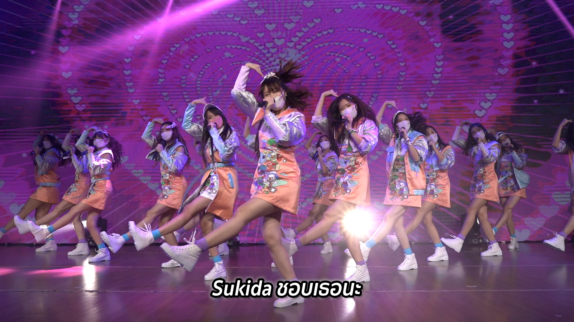 BNK48『好きだ 好きだ 好きだ(Sukida Sukida Sukida)』 ©AKB48 GROUP ASIA FESTIVAL 2021 ONLINE executive committee
