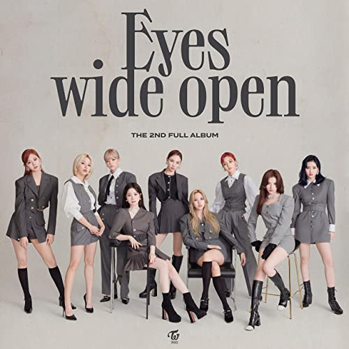 「I CAN'T STOP ME」収録アルバム『Eyes wide open』('20)