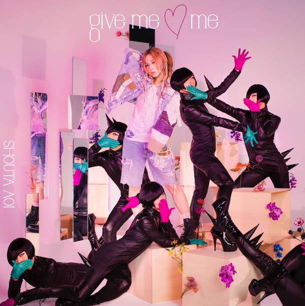 シングル「give me ♡ me」【初回限定盤】(CD+DVD)