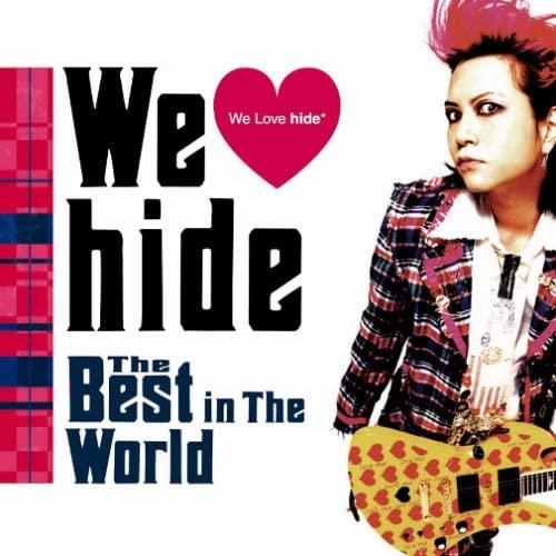 「ピンクスパイダー」収録アルバム『We Love hide~The Best in The World~』/hide with Spread Beaver