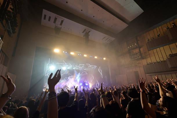 2021年7月14日 at LINE CUBE SHIBUYA(Photo by 江隈麗志)