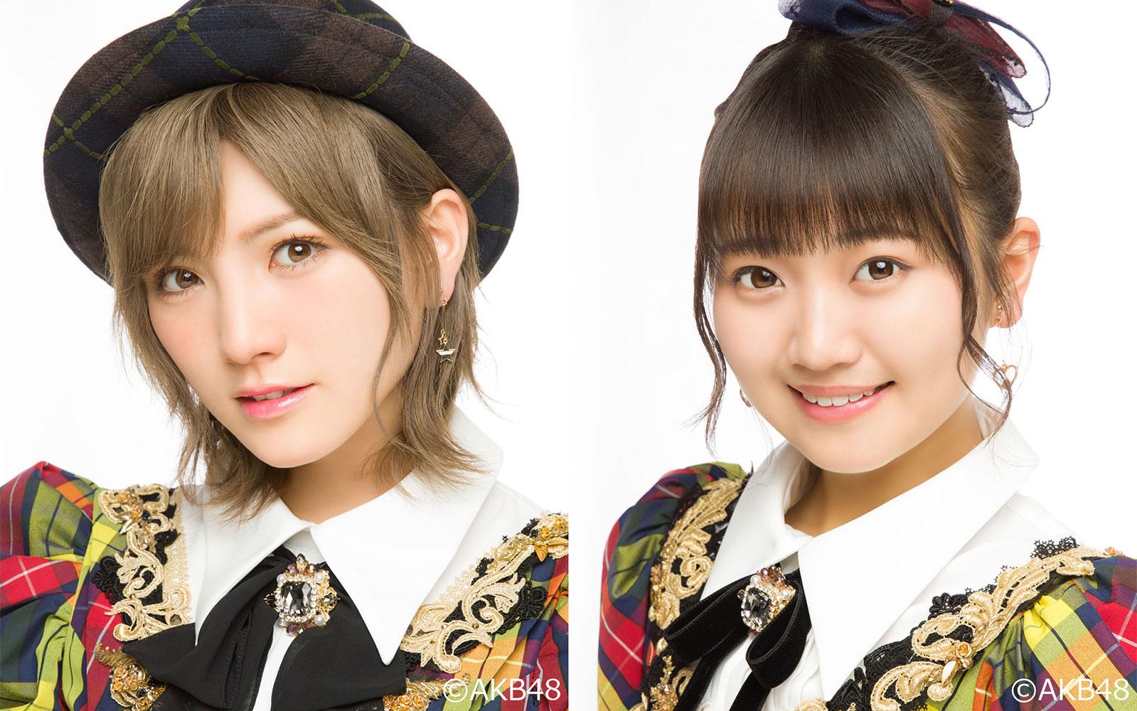 8/5(木)   岡田奈々(AKB48チーム4/STU48) 稲垣香織(AKB48チーム4)