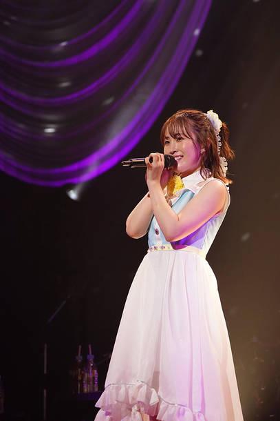 『鈴木みのり2nd LIVE TOUR 2021 ~Make My Story!~』7月31日(土) at 日本特殊陶業市民会館ビレッジホール(Photo by 中原幸)
