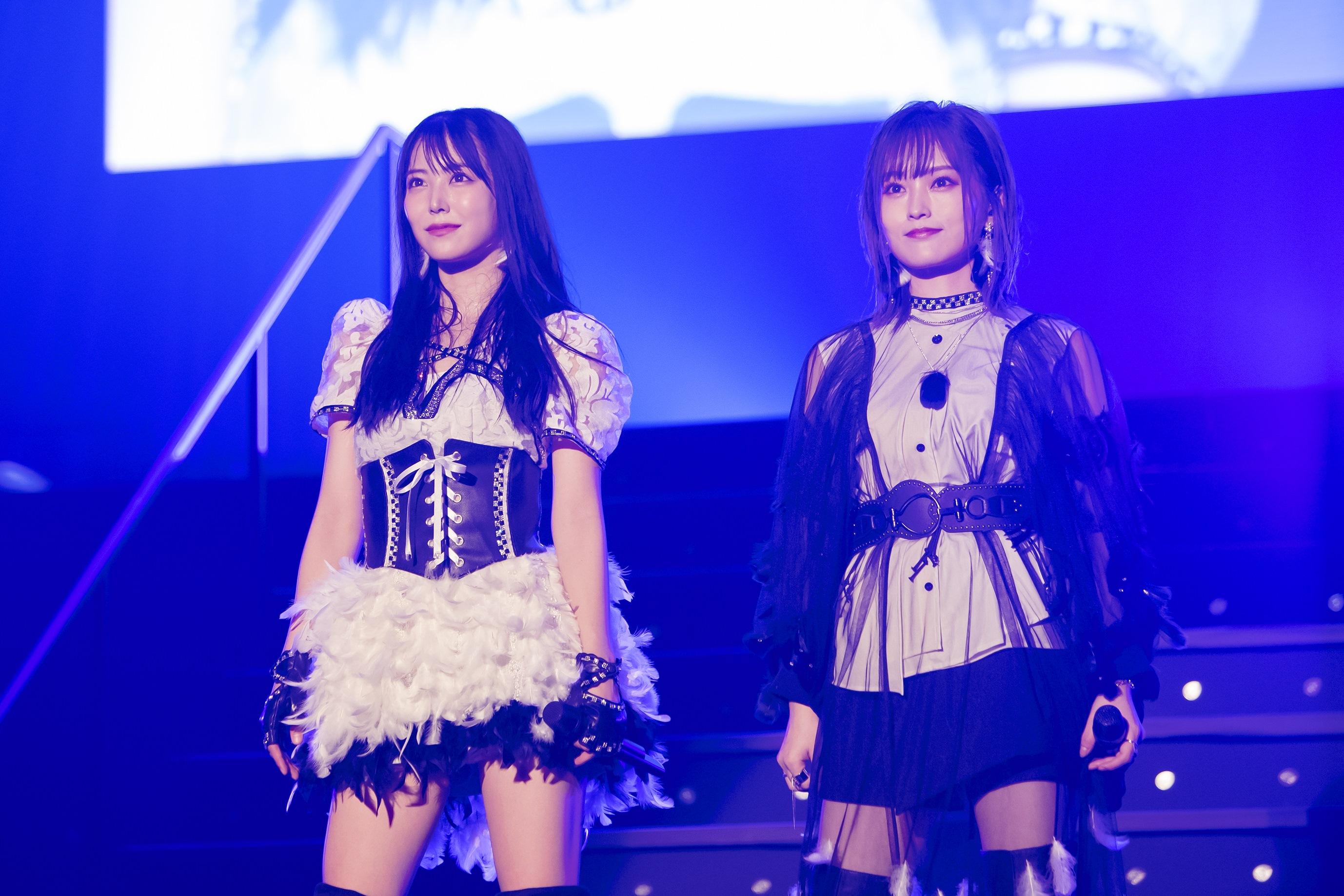 白間美瑠と山本彩 ©NMB48