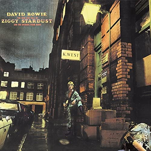 「Rock'N'Roll Suicide」収録アルバム『The Rise and Fall of Ziggy Stardust and The Spiders from Mars』/David Bowie