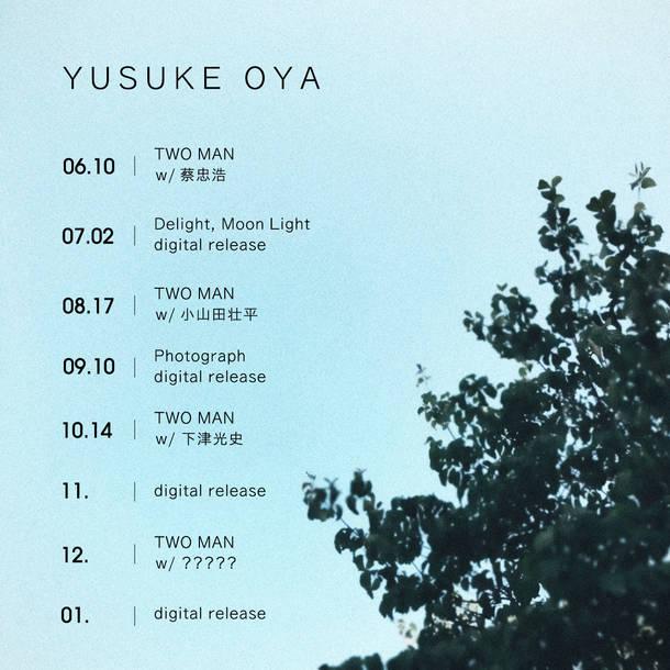 "Yusuke Oya presents ""Two Man"""