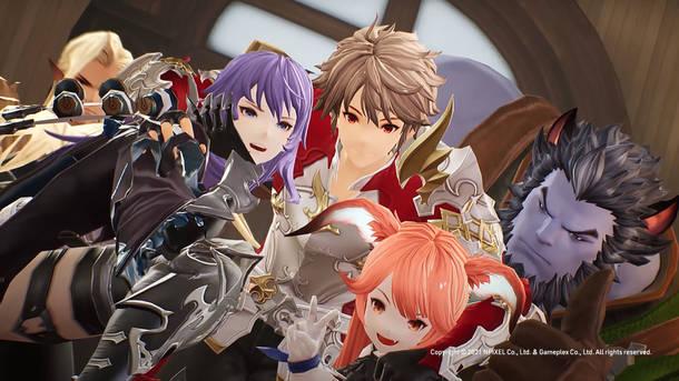 『グランサガ』ゲーム画面イメージ