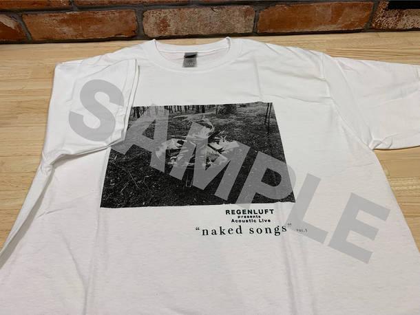 「naked songs vol.1」Tシャツ(サンプル)