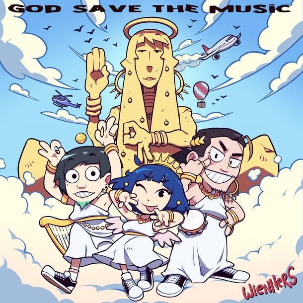 配信シングル「GOD SAVE THE MUSIC」