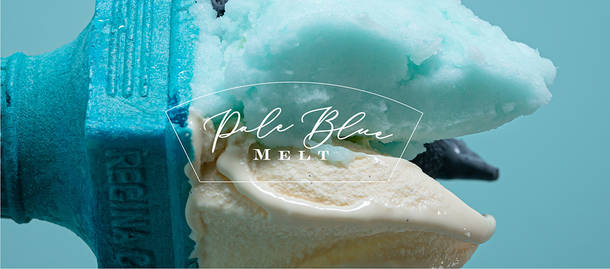 『Pale Blue Melt』ジェラート