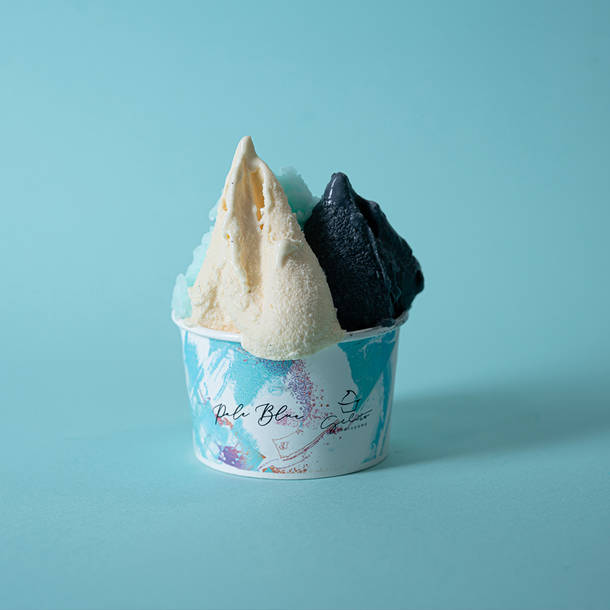 『Pale Blue Melt』ジェラート(カップ:トリプル)