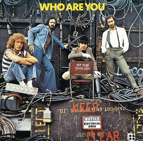 「Who Are You」収録アルバム『Who Are You』/The Who