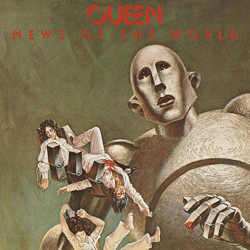 「We Will Rock You」収録アルバム『News Of The World』/Queen