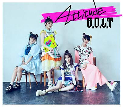 アルバム『Attitude』【初回限定盤A】(CD+Blu-ray)