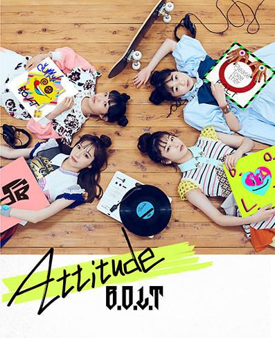 アルバム『Attitude』【初回限定盤B】(CD+Blu-ray)