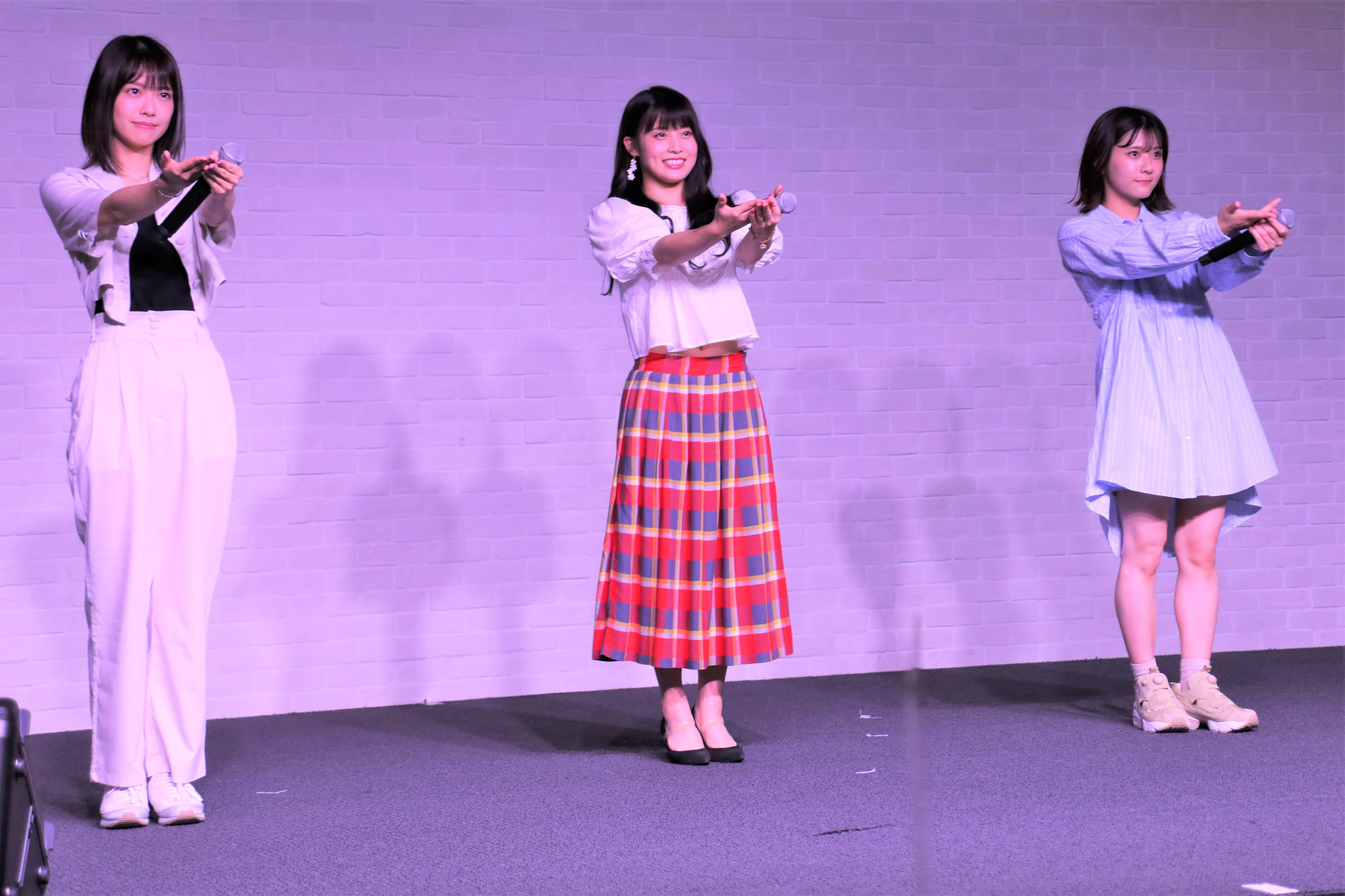 小田えりな・岡部麟・清水麻璃亜