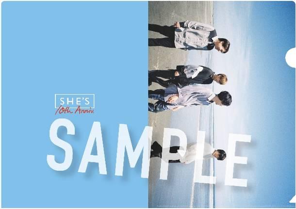 アルバム『Amulet』店舗別購入特典 TOWER RECORDSオリジナル特典:クリアファイル(A4)