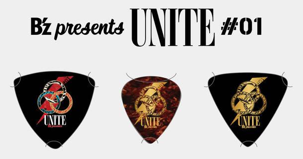 B'z presents UNITE #01 B'zメンバー使用オリジナルギターピックセット