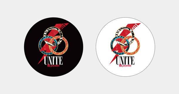 B'z presents UNITE #01 B'z本番時使用ドラムヘッド(メンバー直筆サイン入り)