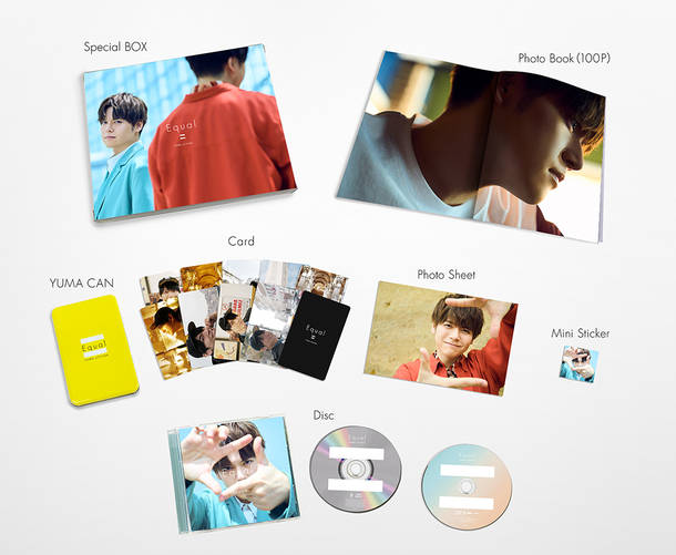 アルバム『Equal』【完全生産限定BOX】(CD+Blu-ray)展開図