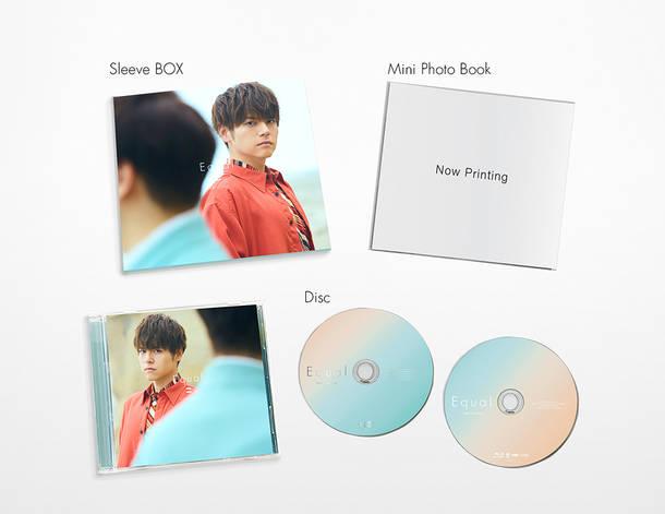アルバム『Equal』【CD+BD盤】(CD+Blu-ray)展開図