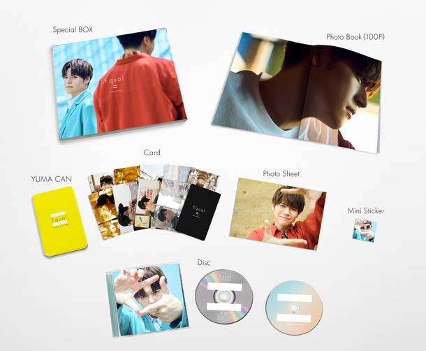 アルバム『Equal』【完全生産限定BOX】展開写真