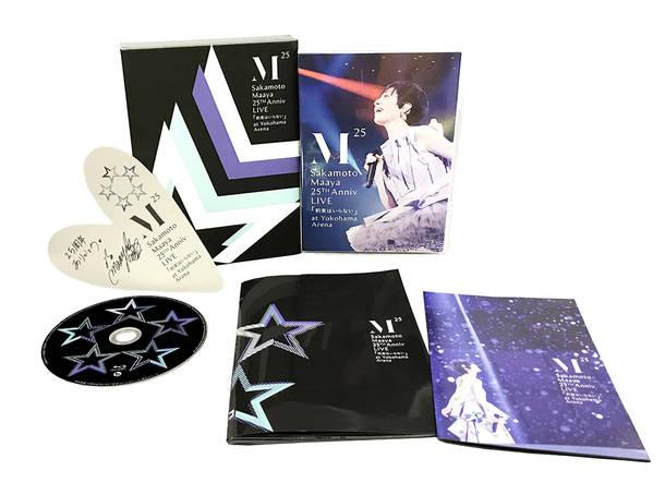 Blu-ray&DVD『坂本真綾 25周年記念LIVE「約束はいらない」 at 横浜アリーナ』【初回生産分スリーブ】展開図