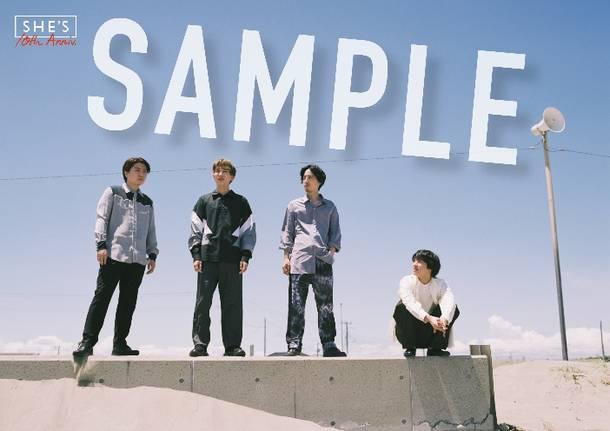 アルバム『Amulet』店舗別購入特典 UNIVERSAL MUSIC STORE:オリジナルポスター(A2)/全国CDショップ・インターネット販売サイト共通特典:オリジナルポスター(A2)