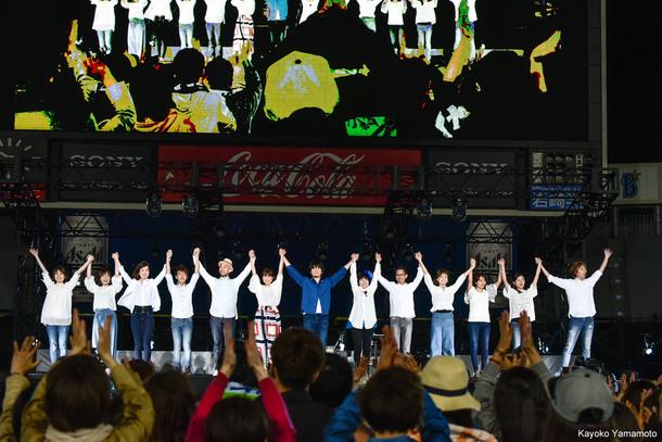 『秦 基博 10th Anniversary LIVE AT 横浜スタジアム』【二部】 photo by Kayoko Yamamoto