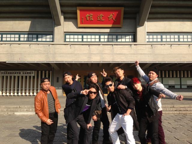 Hilcrhyme Crew で武道館にて