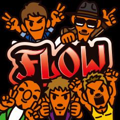 FLOW公式LINEスタンプ