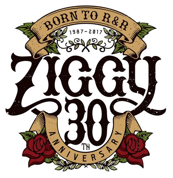 ZIGGYデビュー30周年 ロゴ