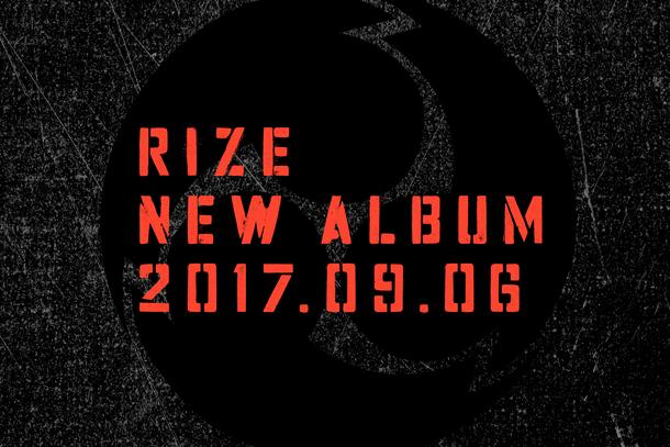 RIZE アルバムリリース告知画像