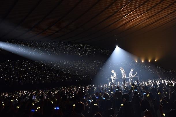 1月21日@東京・国立代々木第一体育館