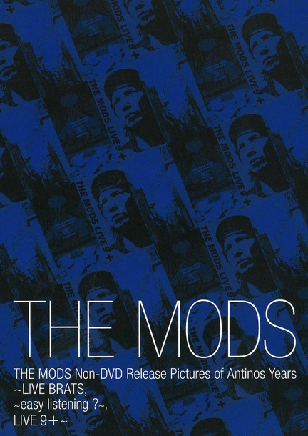 DVD『THE MODS Non-DVD Release Pictures of Antinos years』