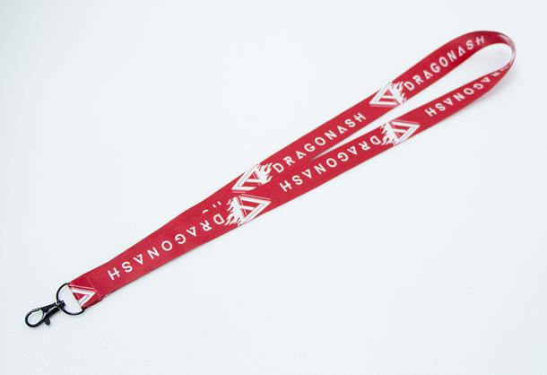 HMV『Dragon Ashオリジナルネックストラップ(赤×白)』