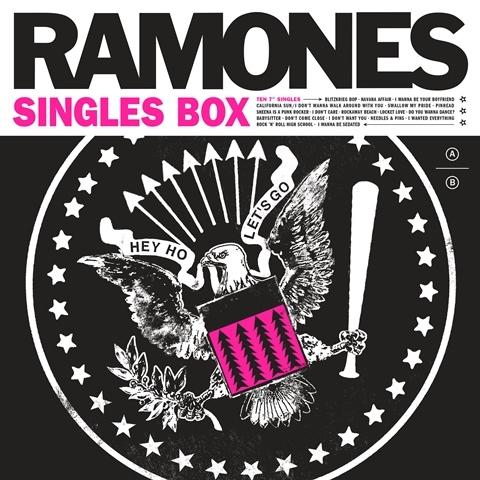 RAMONES/RAMONES SINGLES BOX
